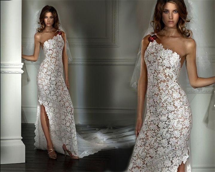 Спицами свадебные платья
