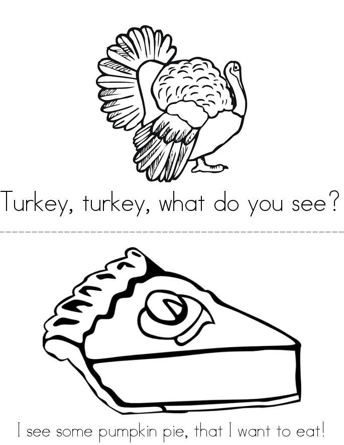 Turkey, Turkey, What Do You See Book - Twisty Noodle ...