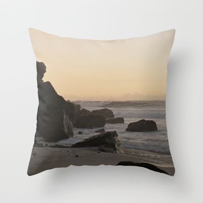 Take me back Throw Pillow by Susigrafie - $20.00