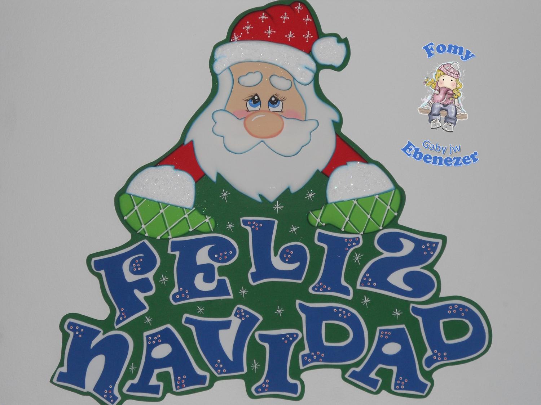 Letrero Navidad Imanes De Navidad Manualidades Navideñas Navidad Fomi
