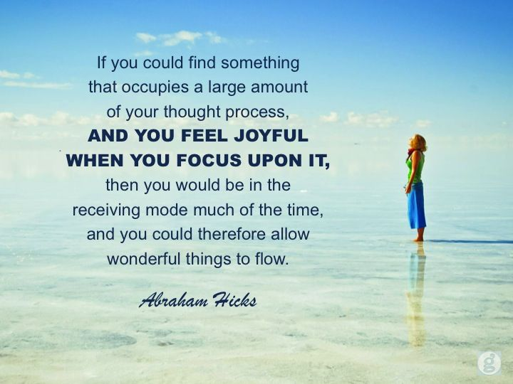 abrahamhicks allowing joyful Abraham hicks quotes