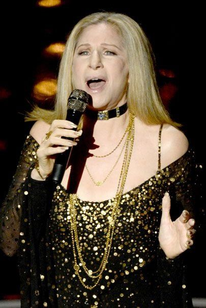 """Barbra sang """"The Way We Were"""" as a tribute to Marvin Hamlisch at the Oscars 2013"""