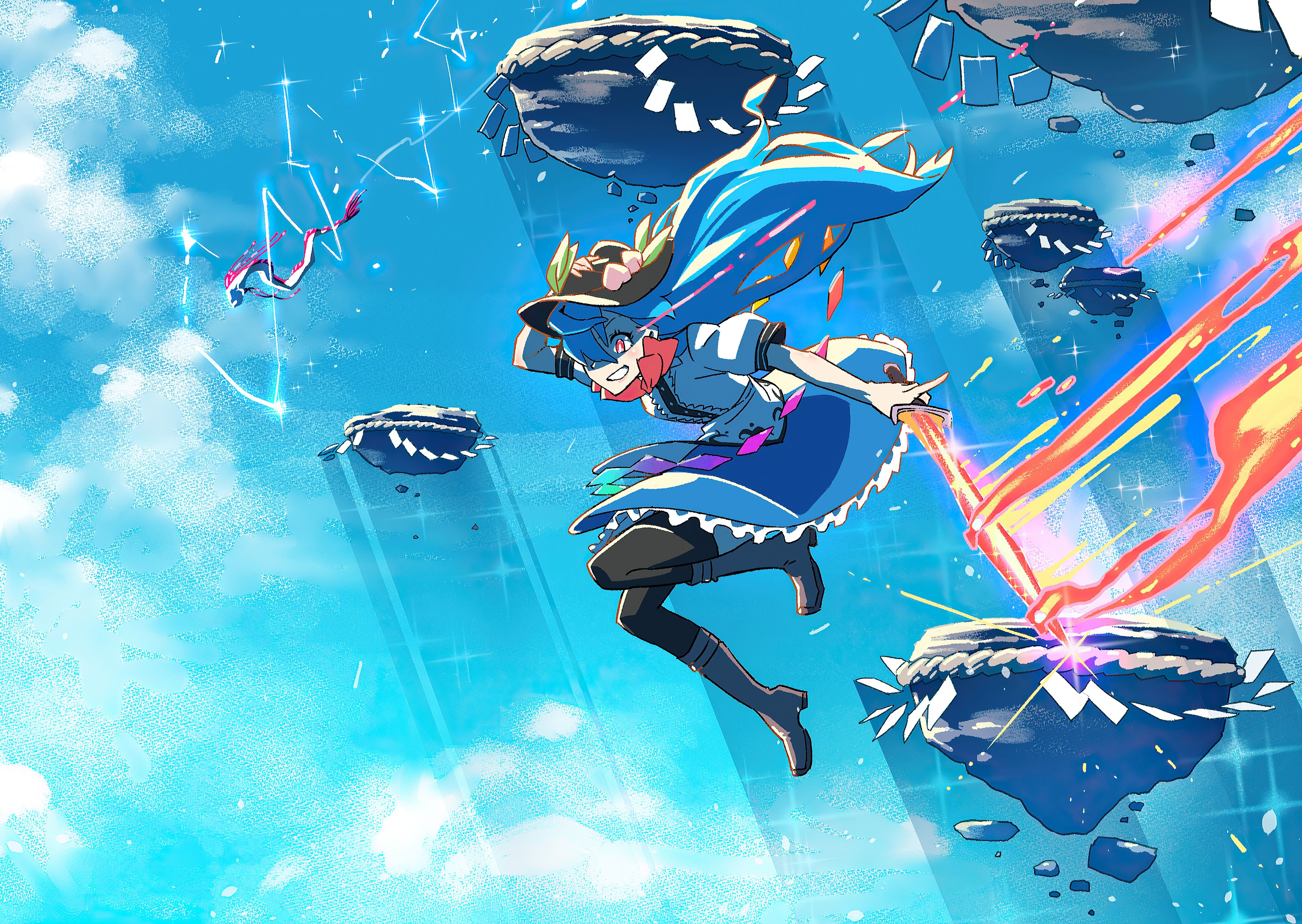Hinanawi Tenshi Anime 4k Hinanawi Tenshi Anime 4k Wallpapers Anime 4k Anime Wallpapers 4k 4k Anime Wallpaper 25 anime art fantasy wallpapers