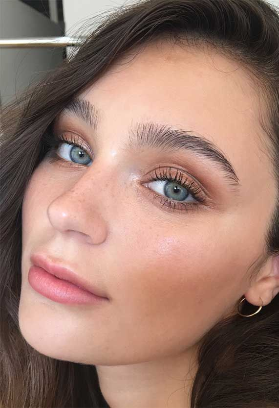 Beautiful Neutral Makeup ideas for Summer perfect for any occasion 25
