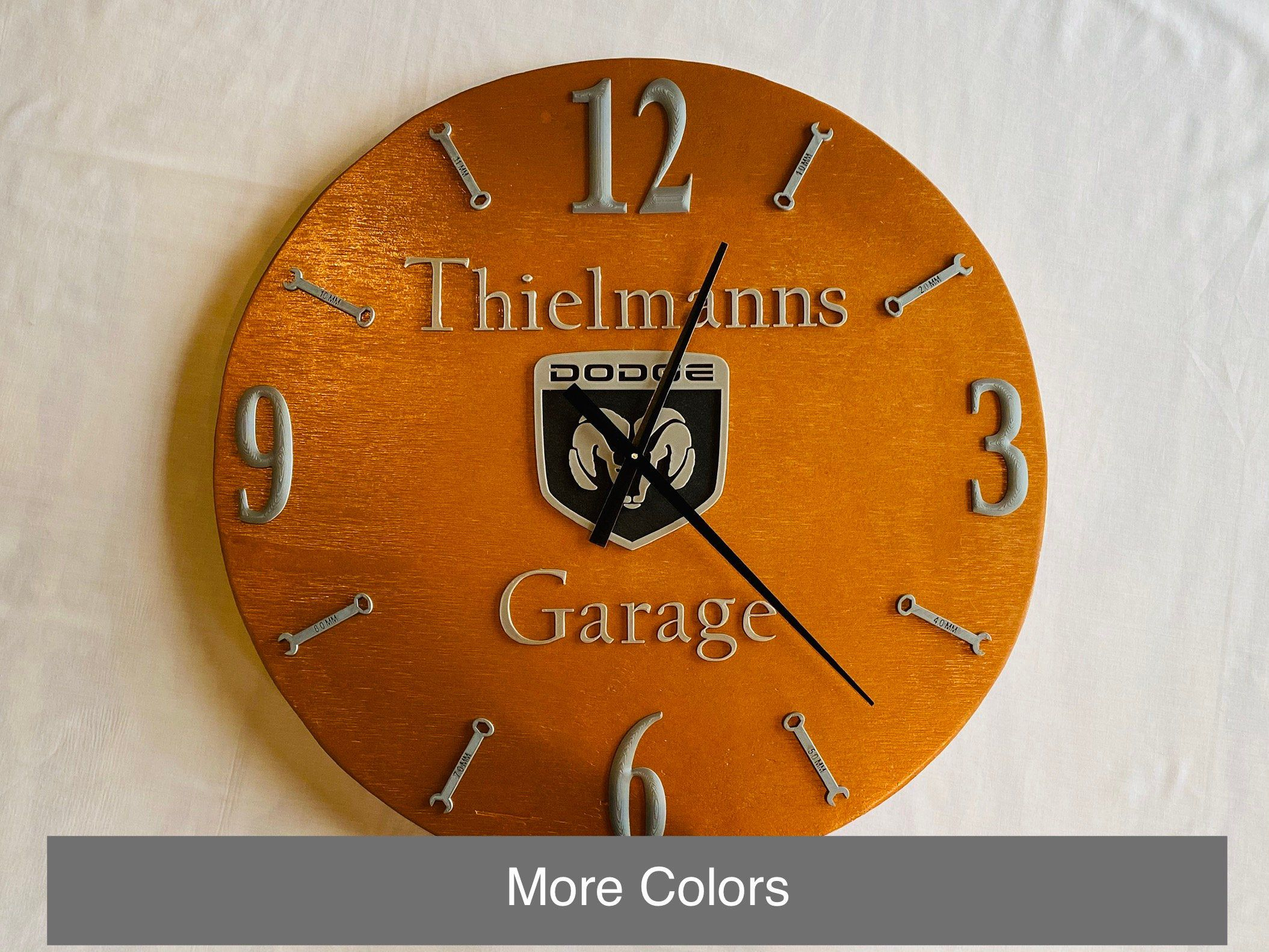 24 personalized wall clock fathers day gift clock