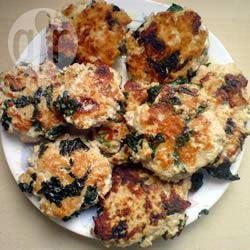 Spinach and Turkey Rissoles | Recipe | Mince recipes, Food ...