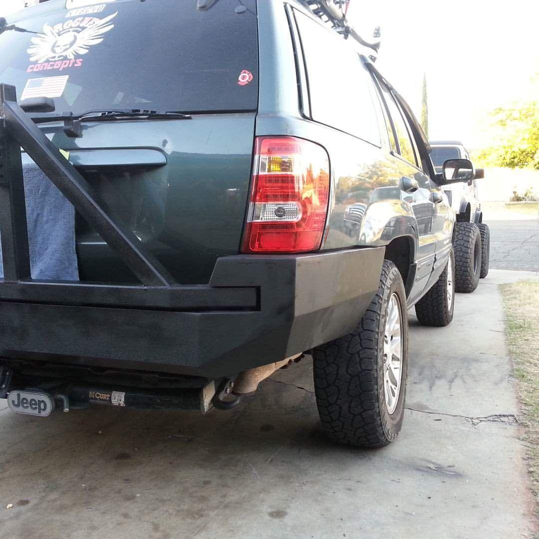99 04 Wj Grand Cherokee Rear Bumper Kits In 2020 Jeep Bumpers Bumpers Jeep Zj