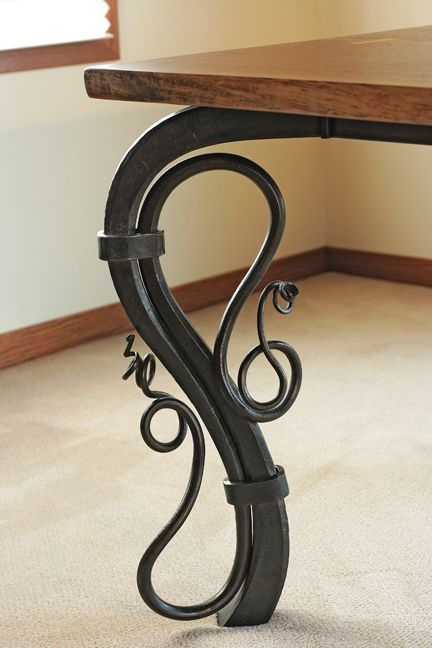 Conference Or Dining Table Iron Table Legs Wrought Iron Table