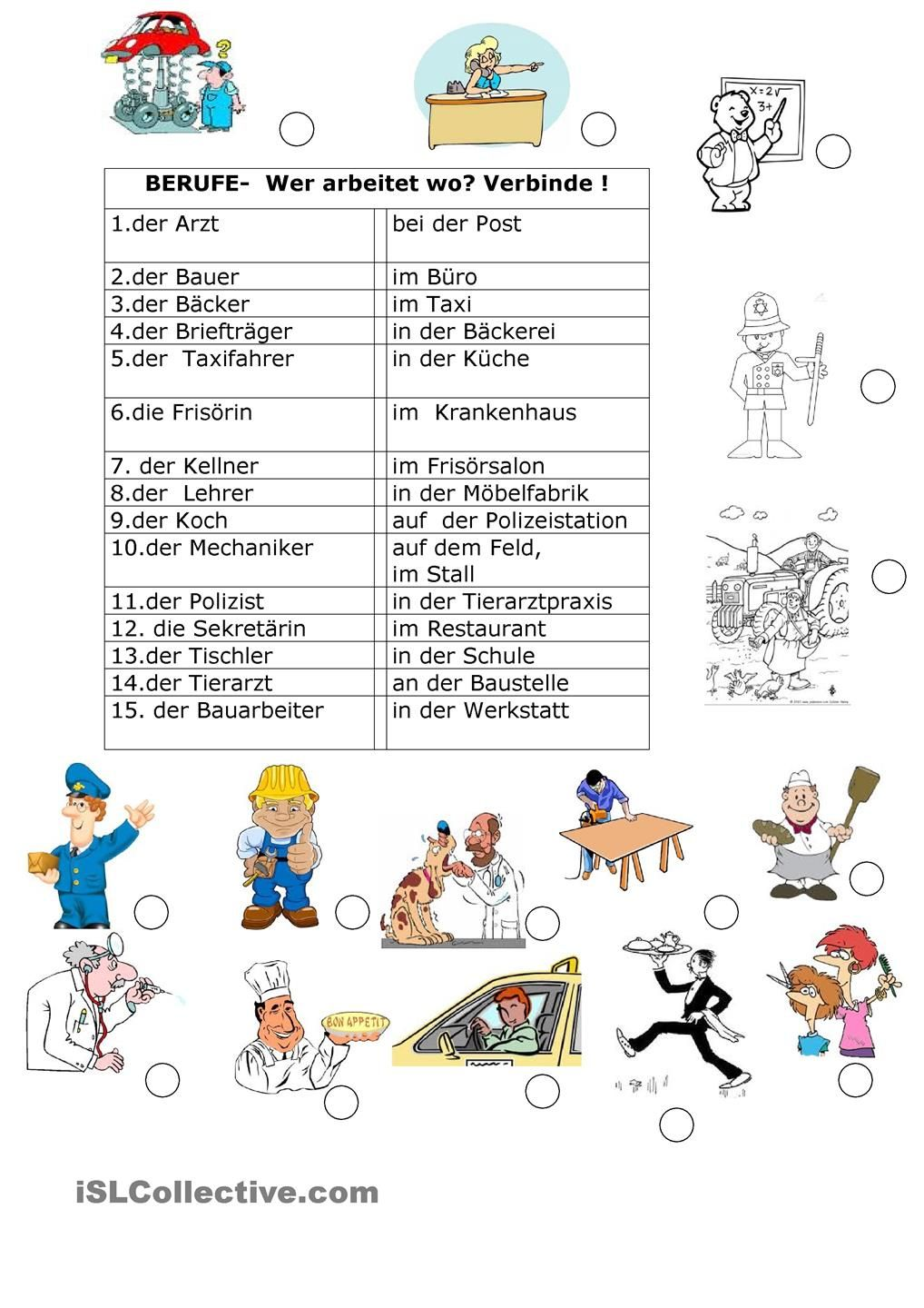 Berufe 2 | german | German language, German resources, German