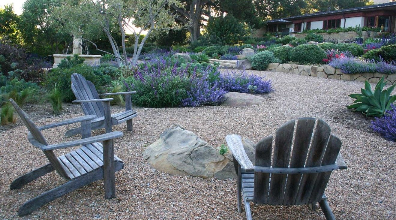 Modern Drought Tolerant Landscape Design Is Normally All Hard Lines. We Did  Something Different And