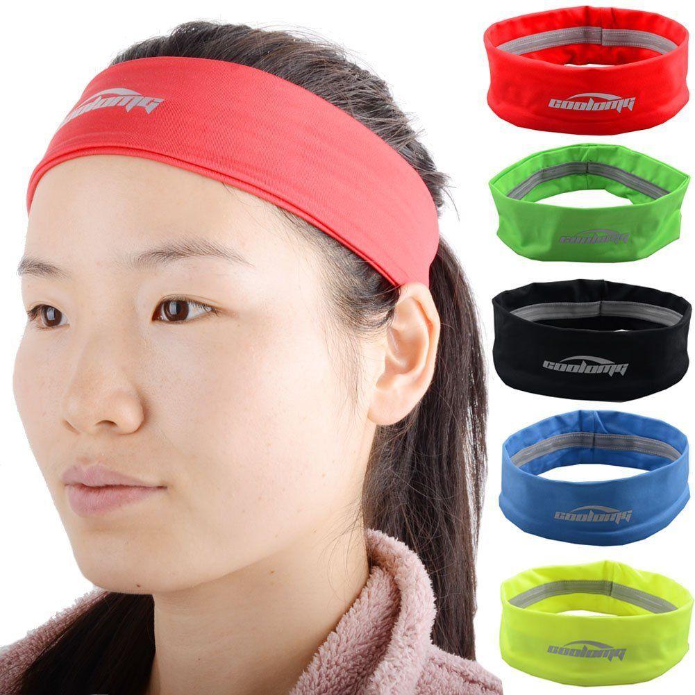 Coolomg Elstisch Stirnband Sports Headband F 252 R Damen Und