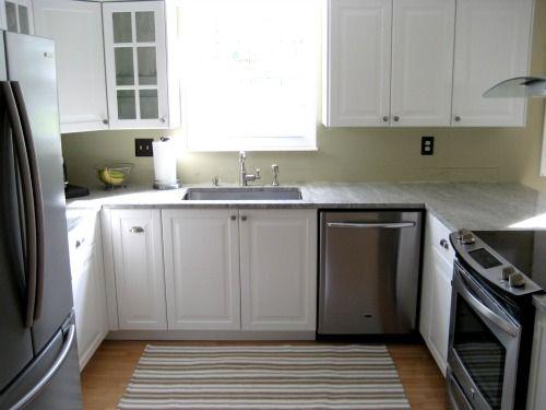 Kashmir White Granite Ikea Lidingo Cabinets Kitchens Pinterest