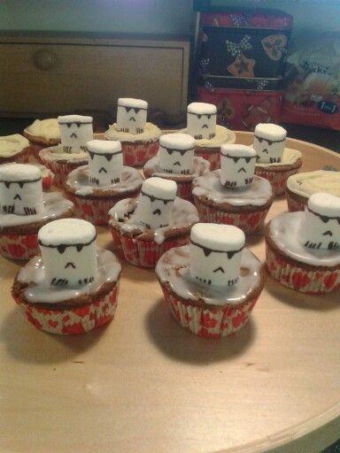 Stormtrooper muffins