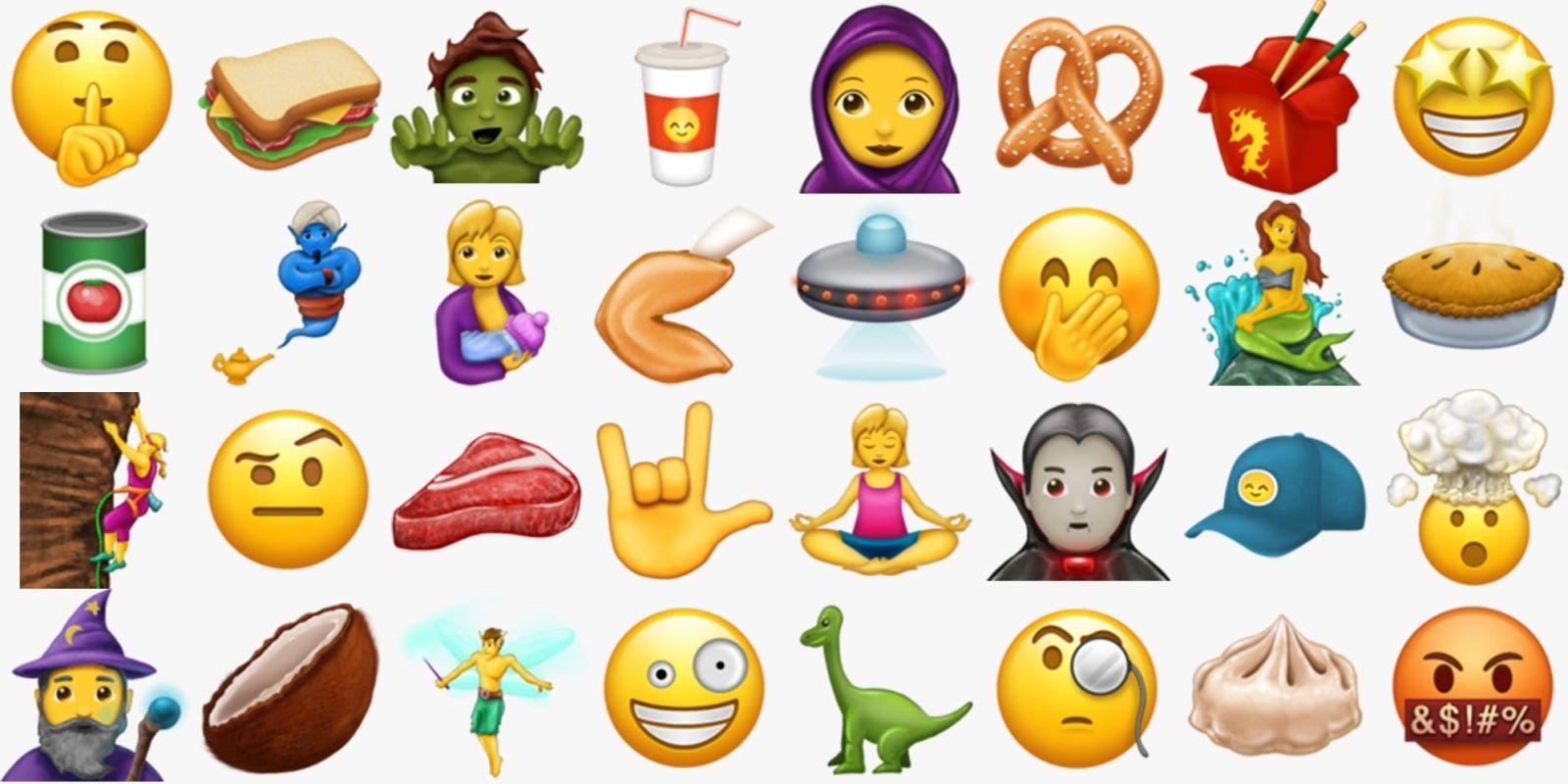 Say Hello To 56 New Emojis This Summer New Emojis Emoji Say Hello