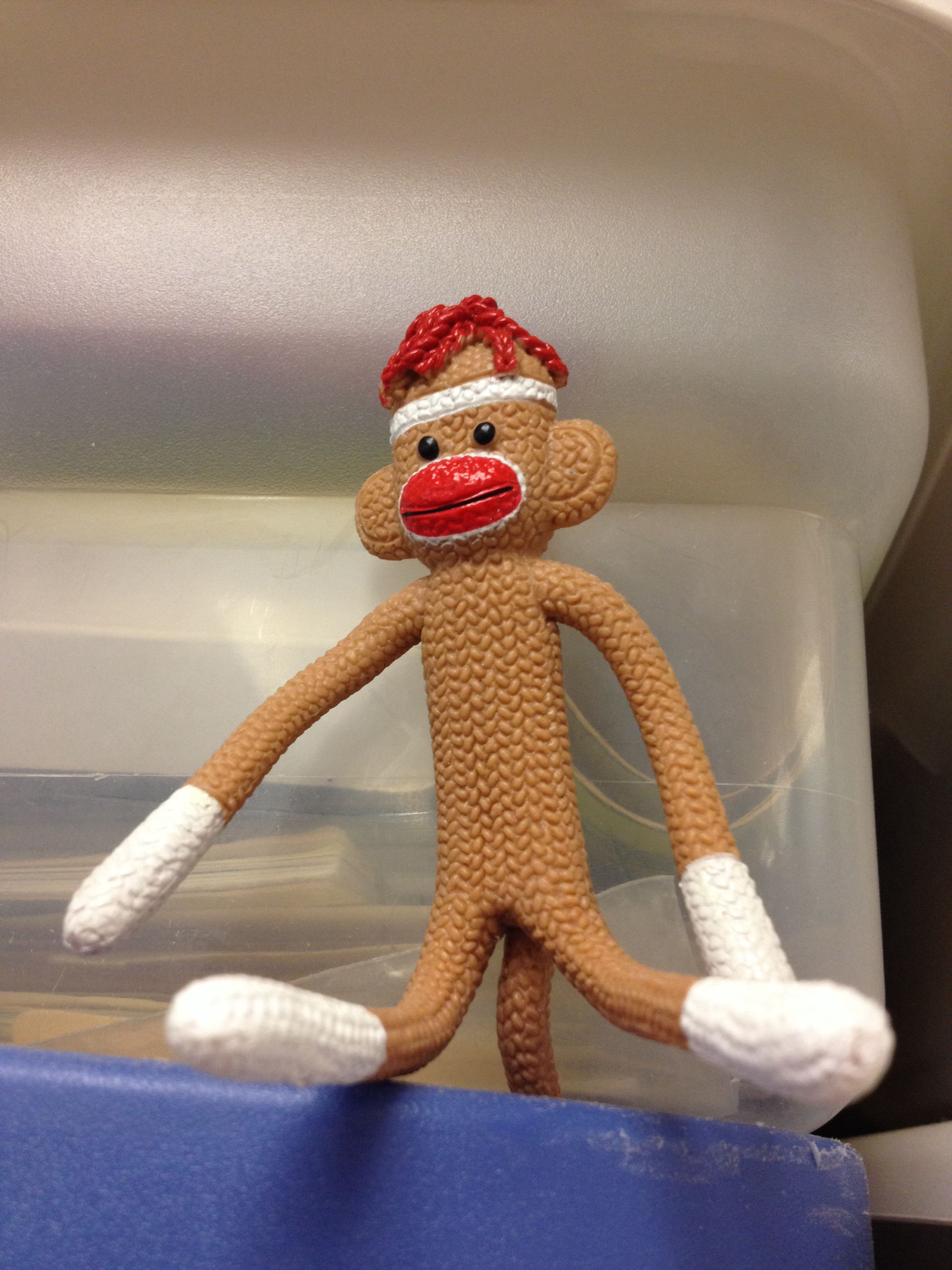 Bendy sock monkey. | Monkey, Decor, Elf on the shelf