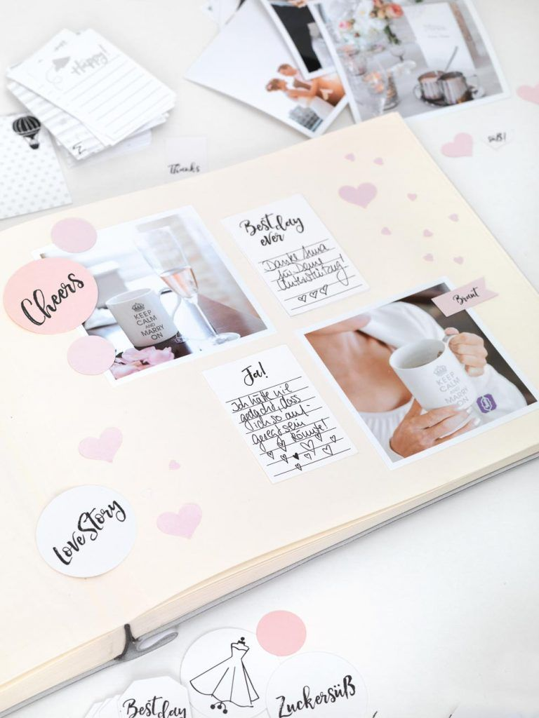 hochzeitsalbum wundervolle goodies zum downloaden fotoalben g stebuch und fotoalbum hochzeit. Black Bedroom Furniture Sets. Home Design Ideas