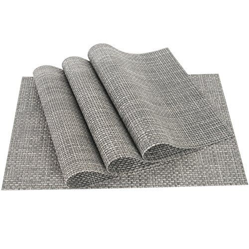 Pvc Weave Placemats Zupro Dining Table Mat Anti Slip Hea Https Smile Amazon Com Dp B01d0zf1gy Ref Cm Sw R Pi Dp X Sw Woven Placemats Table Mats Placemats