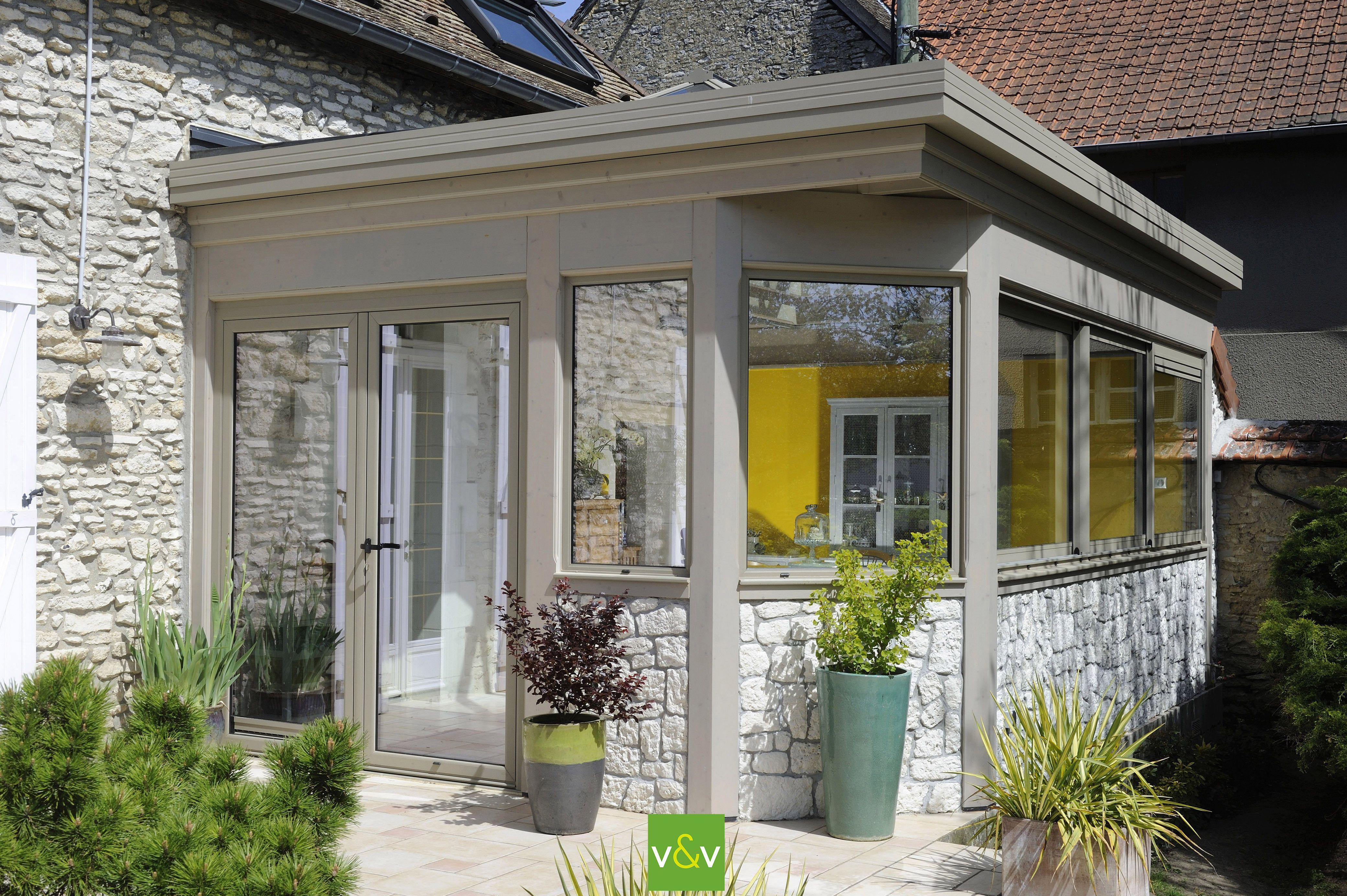 Decaper Une Terrasse la véranda emma par vie & véranda : une véranda à toiture