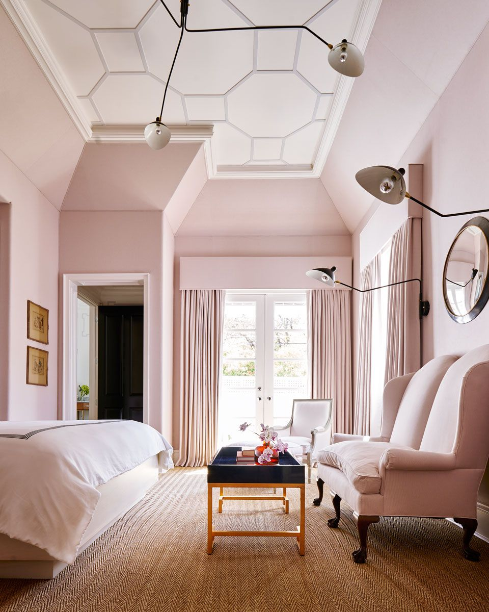 A Family Oasis In Preston Hollow D Magazine Blush Bedroom