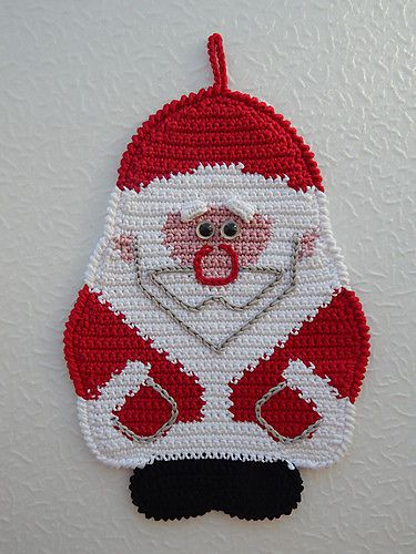 Ravelry: 039 Santa Claus, Father Christmas, Father Frost pattern by LittleOwlsHut