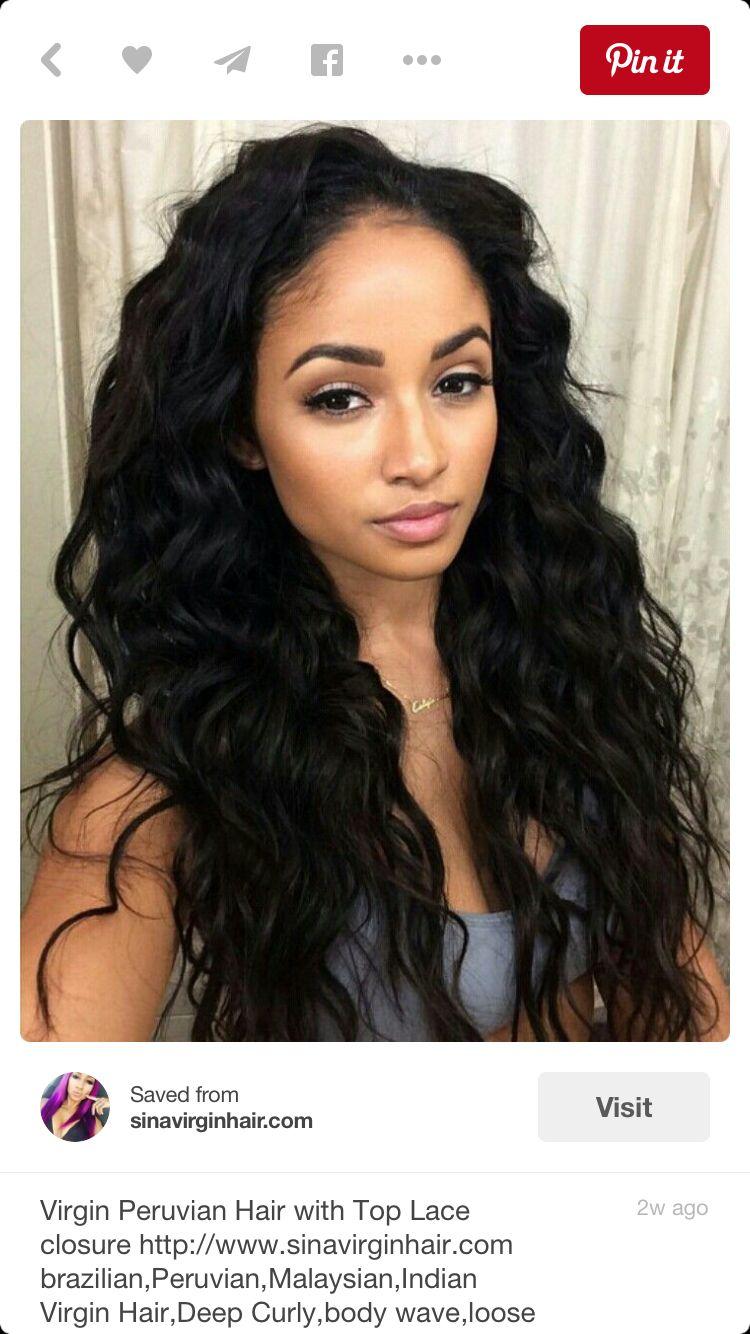 pin by moriah culver on hair | natural waves hair, wig