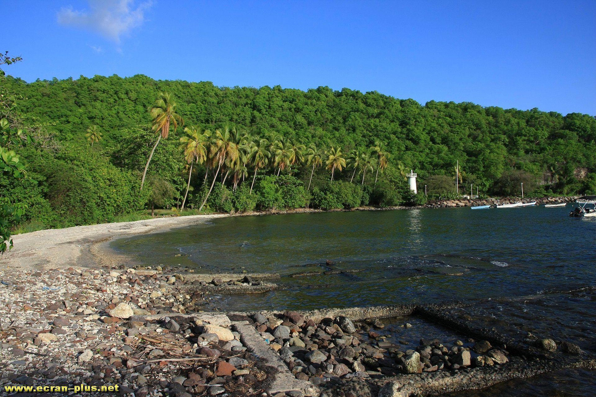La plage de Marigot - Guadeloupe
