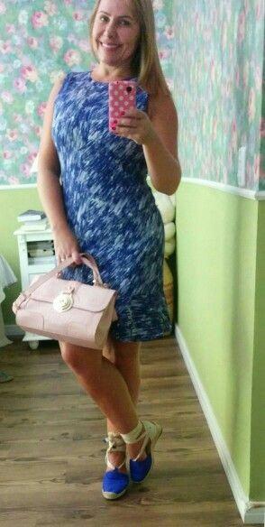 Vestido azul modelo trompete A.Brand, espadrille dummond, bolsa rose quartzo cor pantone 2016, Jorge Bischoff