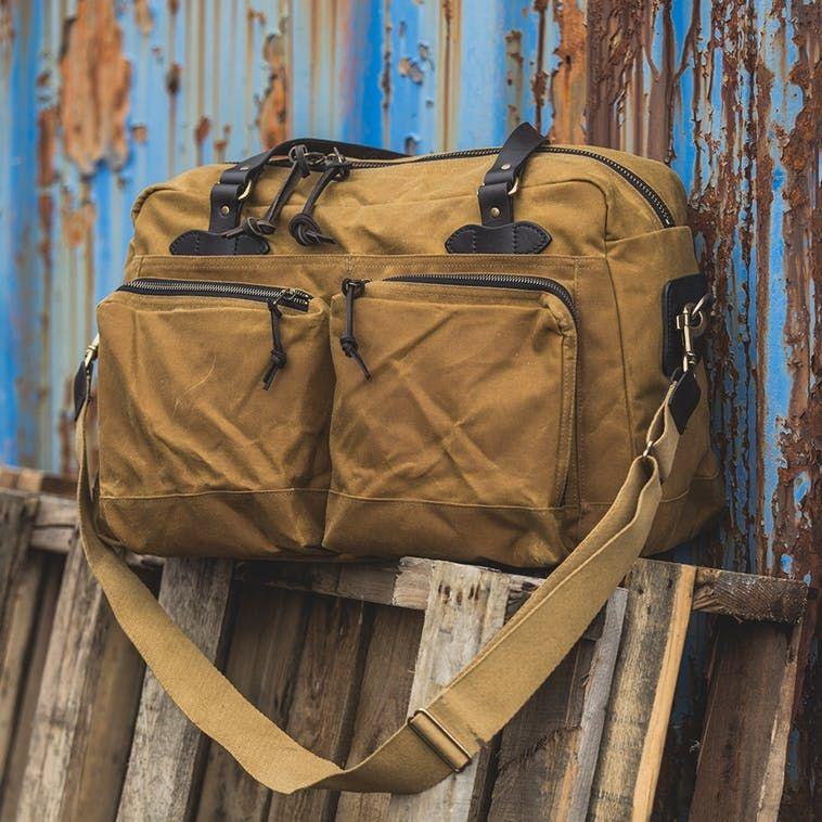48 Hour Tin Cloth Duffle Bag Filson Leather Bags Filson Bags