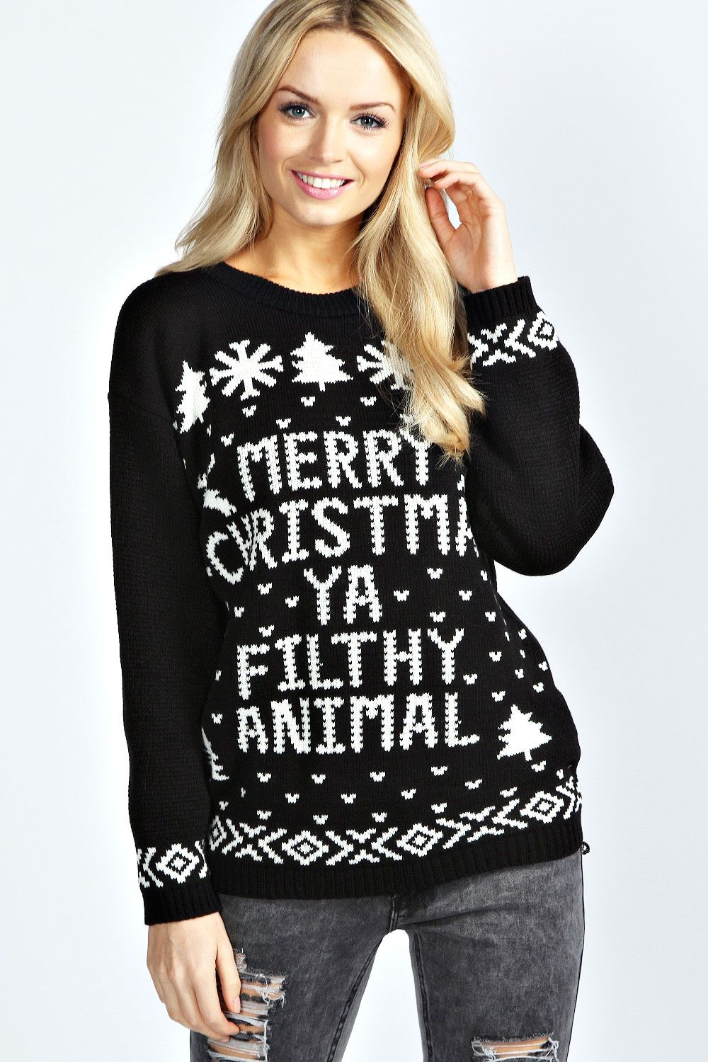 One day I will have Christmas in a cold place and wear