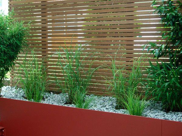 Bildergebnis Für Gartengestaltung Ideen Sichtschutz
