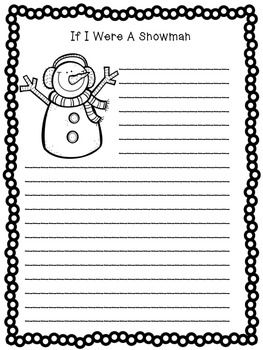 winter writing activities for 2nd grade