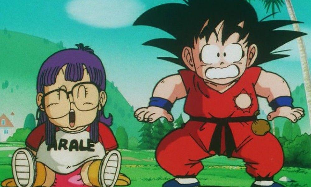 Kết quả hình ảnh cho Dragon Ball Dr. Slump anime