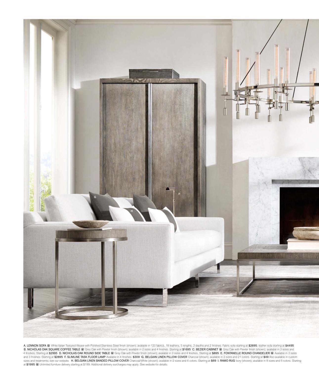 rh source books  interior design living room living