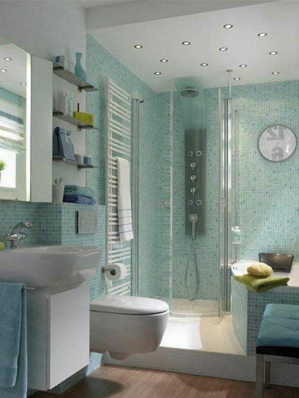 badezimmer mit einer duschkabine ausstatten - 77 Badezimmer-Ideen ...