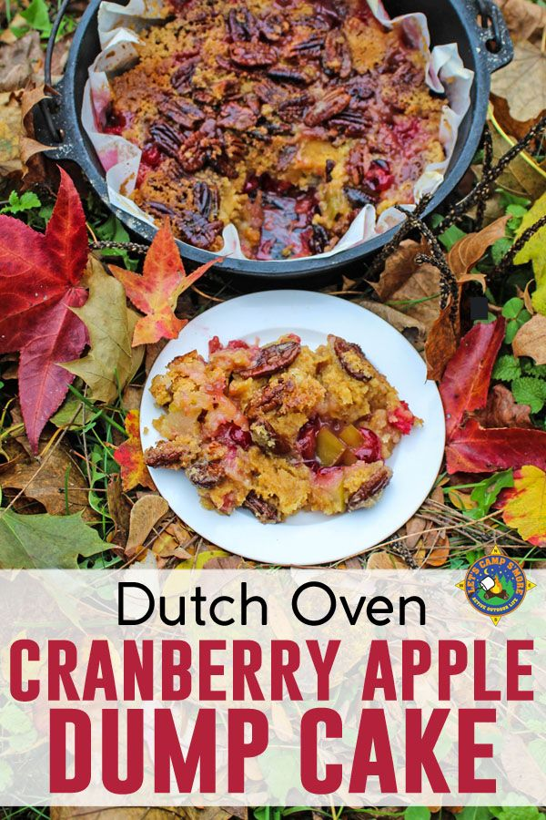 Cranberry Apple Dump Cake Recipe