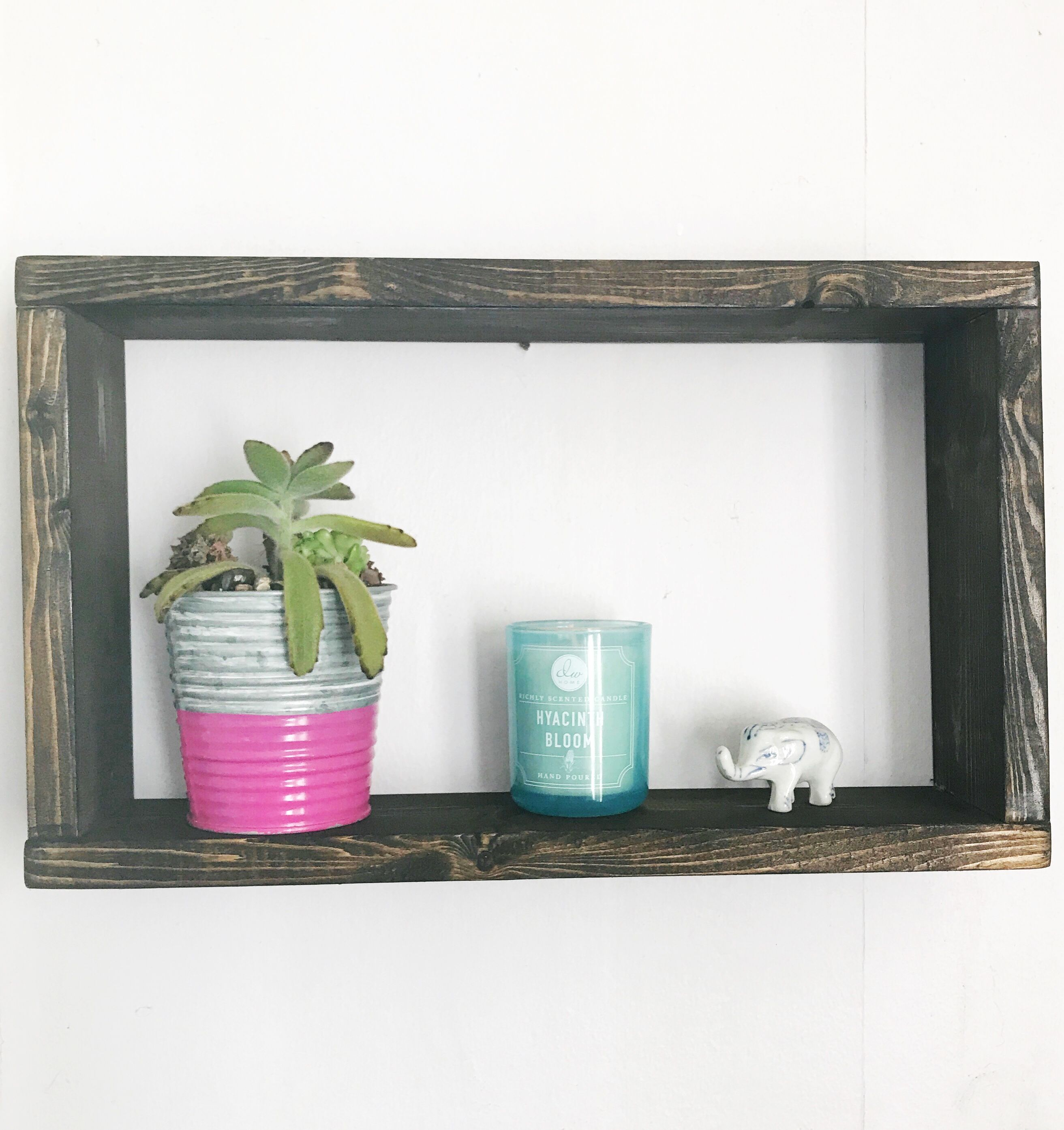 Floating Box Shelf - 16X8 - Floating Shelves - Home