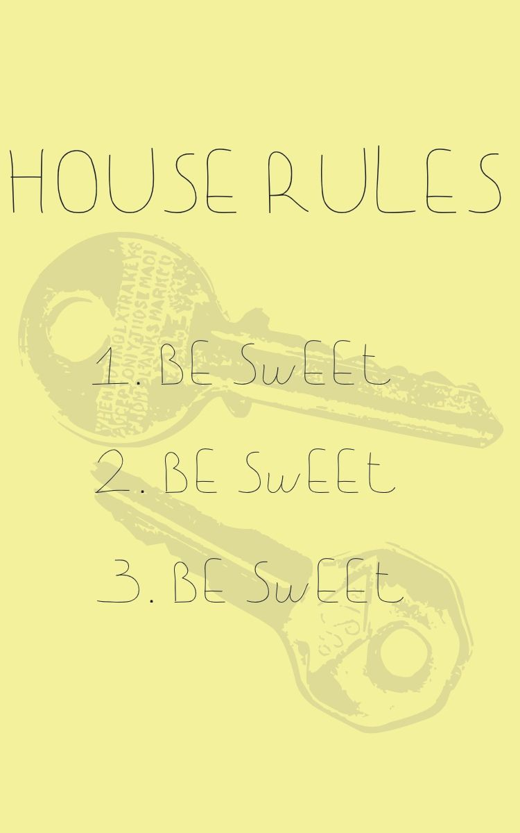 House Rules  Spaces    House Rules Airbnb Ideas And House