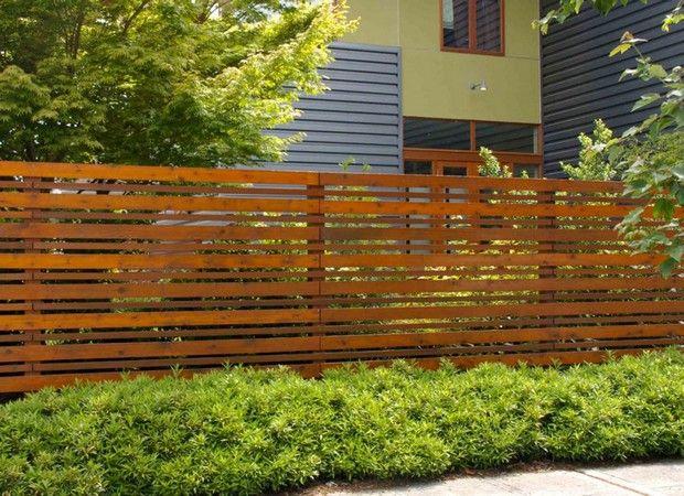 A Horizontal Fence How To