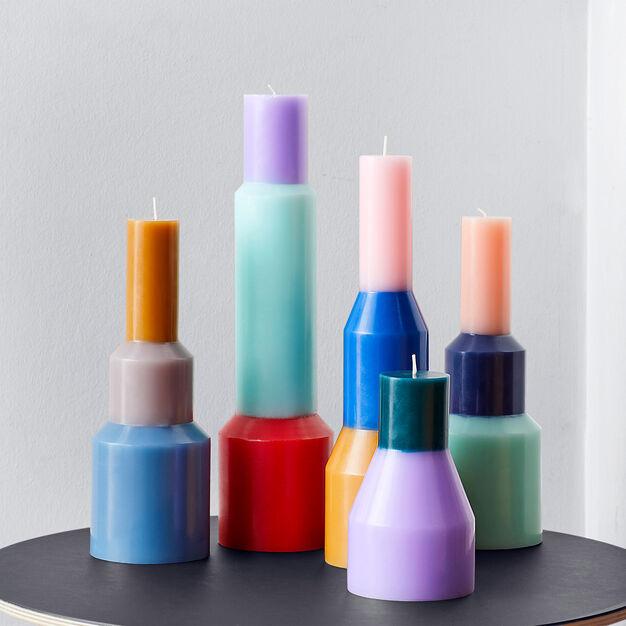 HAY Pillar Candle in color Lavender