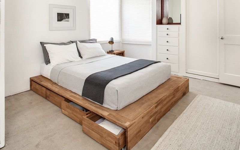10 Tips For Making A Modern Bed With Images Platform Bed