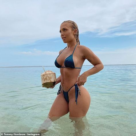Tammy Hembrow leaves NOTHING to the imagination in