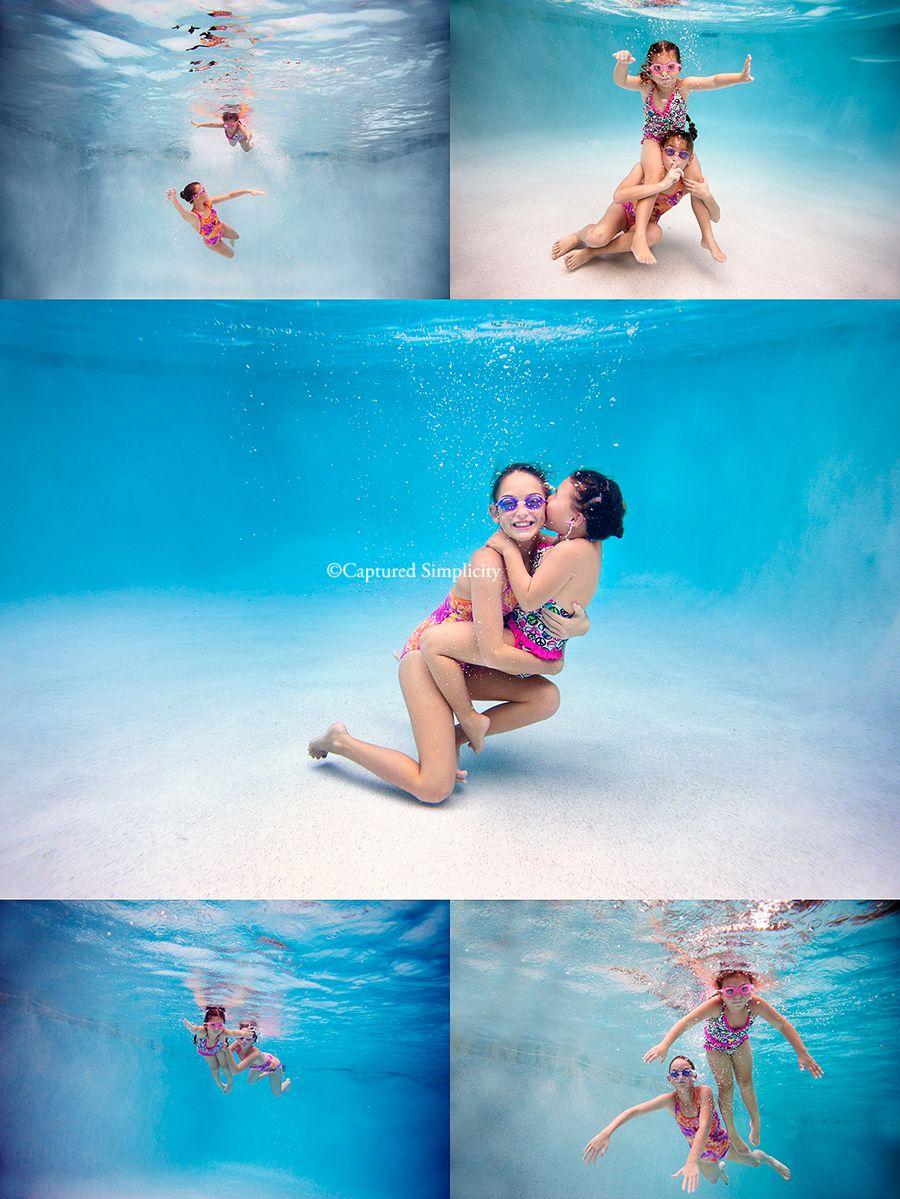 Houston Texas Underwater Kid's Photographer Underwater