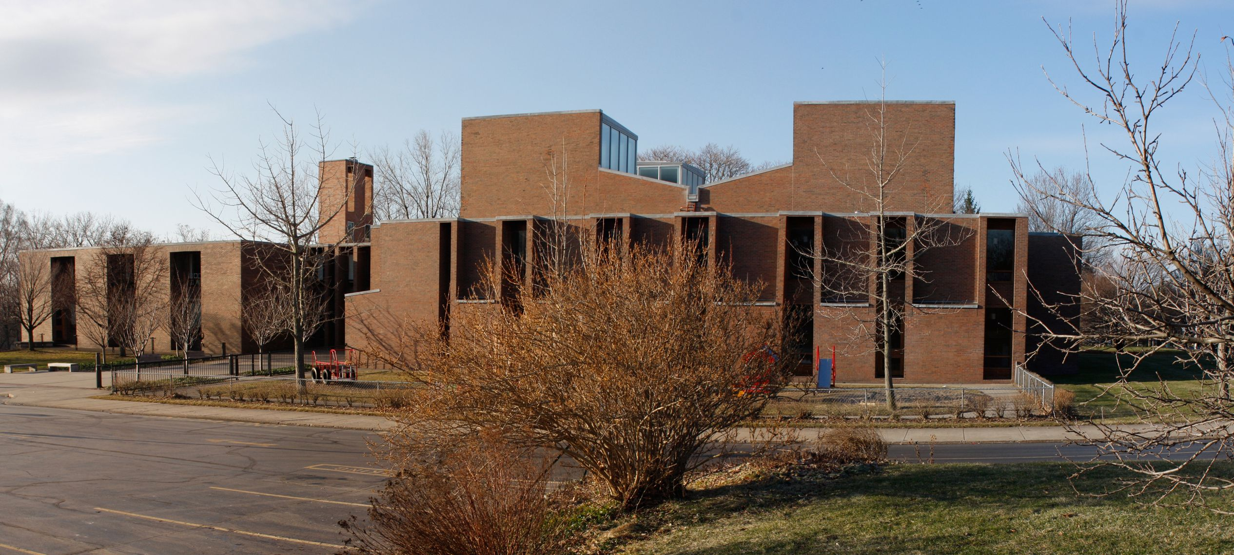 Nice Architects Rochester Ny #3: First Unitarian Church Of Rochester NY - Louis Kahn Architect 1962