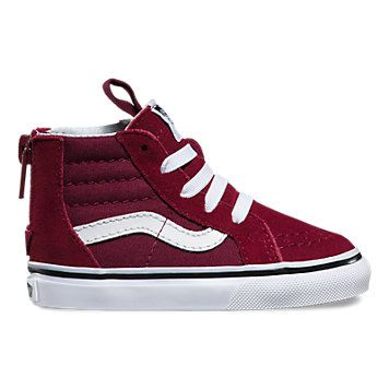 da7132142a26 Adelaide ~Toddlers Sk8-Hi Zip in Windsor Wine size 7.5 or 8