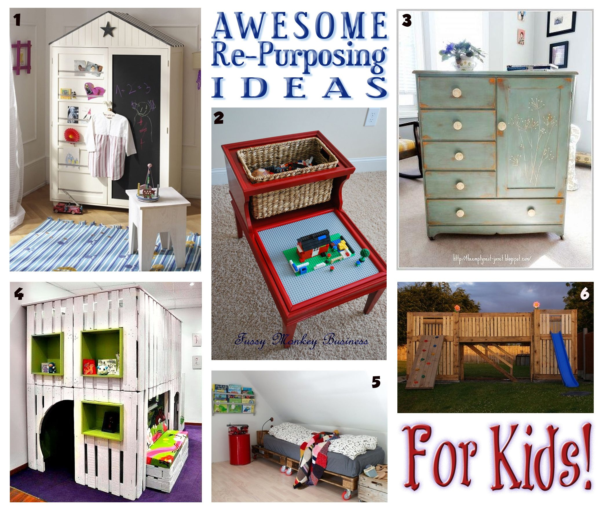 Repurposed Furniture For Kids Repurposing Ideas Es