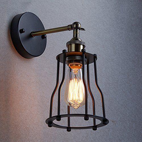 Spectacular YOBO Antik Wandleuchte Anlage Industrie Edison Design klassisch Nostalgie f r E Lampe Licht Gl hbirne