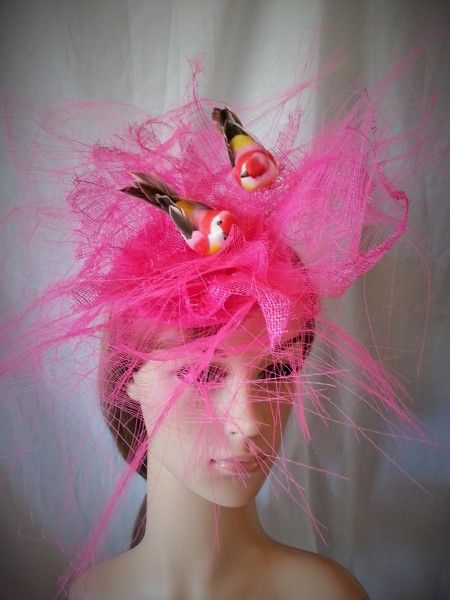 Brids of a Feather  BY LINDA FORD #millinery #hats #HatAcademy