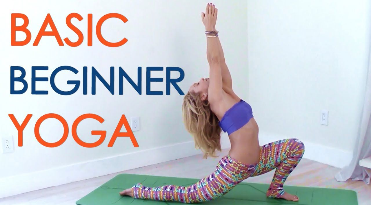 This month is all about Yoga Basics! This four part series