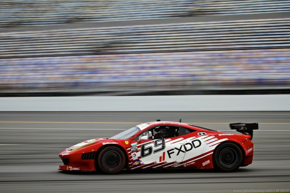 Guy Cosmo And Aim Autosport Fxdd Racing With Ferrari Report Solid