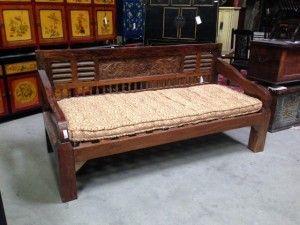 San Diego Rustic Furniture.Ethnic Indonesian Daybed At San Diego Rustic Furniture